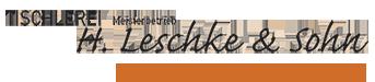 Tischlerei Leschke Logo